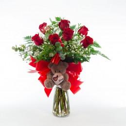 Ramo Rosas Rojas Con...