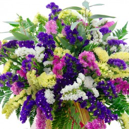centro de flores siemprevivas cerca