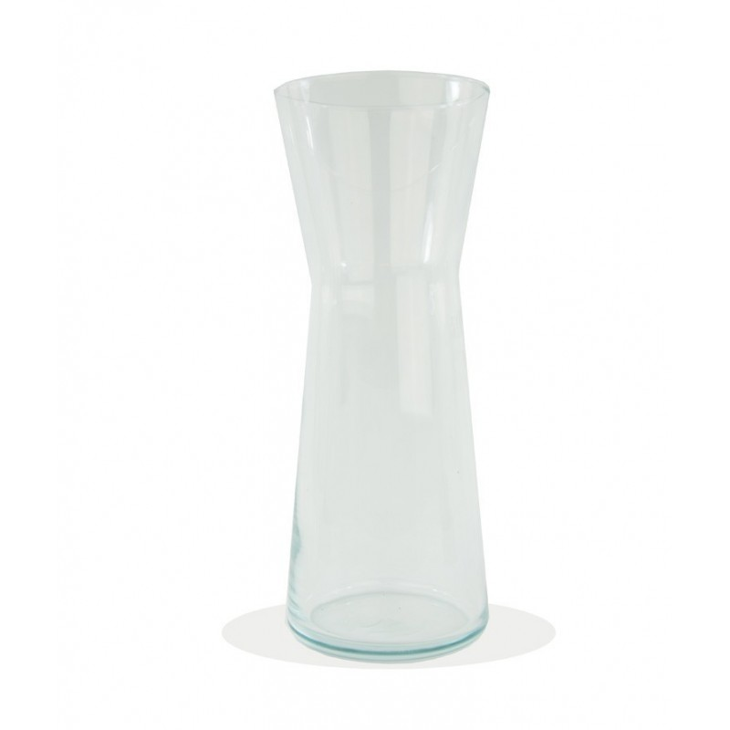 Jarron cristal campana for Jarron cristal