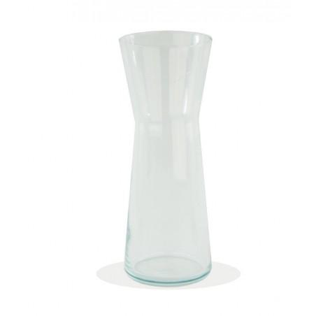 Jarron cristal campana