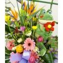 Centro de flores Tropical