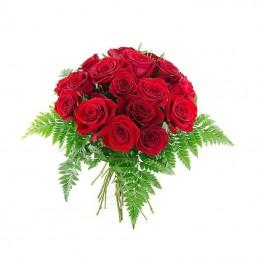 Centro de plantas y rosas