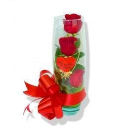 Rosas cristal